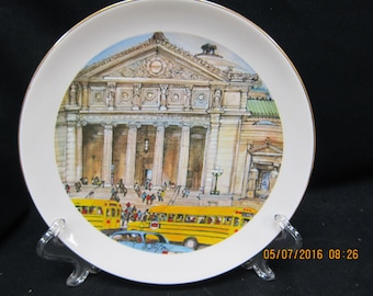 125th Anniversary Continental Bank Chicago Plate - Museum Science & Industry