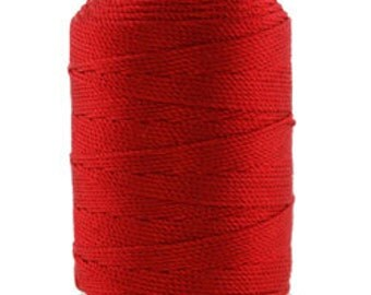 Silk Thread 1/2oz Spool Red Size FFF (CD7060)