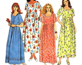 McCall's Sewing Pattern 9274 Misses' Dress , Slip  Size:  B  8-10-12  Used