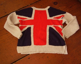 Women's Union Jack sweater