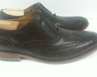 Sale Vintage Brown Mens Shoes by Cole Haan size 11.5 Wide