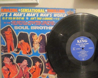 """James Brown  """" Soul Brother # 1"""""""