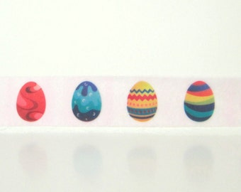 Painted Easter Eggs Washi Tape, 13 yards, Easter Washi