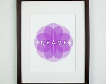 Dreamer Matted Art Print