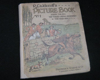 R Caldecotts Miniature Picture Book No1 1914