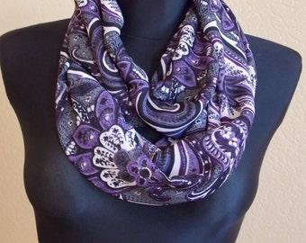 "Silk chiffon scarf  ""SIGOURNEY"" -  scarf for women -  scarves"