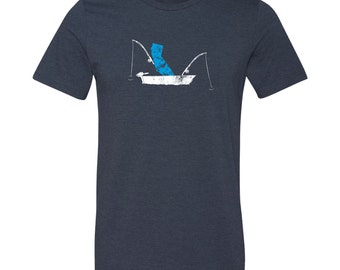 California Fishing T-Shirt