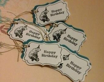 Happy Birthday  Tags( Bear)(12)