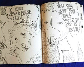 The All Ages Colouring Book of Worries and Reassurances