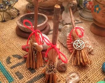 Scopetta rituale - Pulizia energetica dell'Altare - Wicca