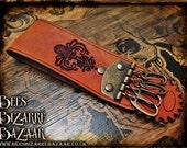 Steampunk - Leather Belt Hanger - Chatelaine