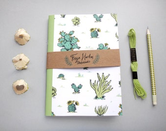 Cactus Sketchbook / Notebook / Journal / Diary / A5