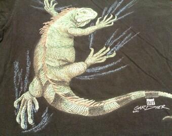Vintage Lizard Wildlife T-Shirt