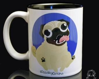 Pug Mug 11oz