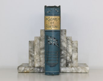 In Search of Fortune Antique Book J.F. Shaw Circa. 1900