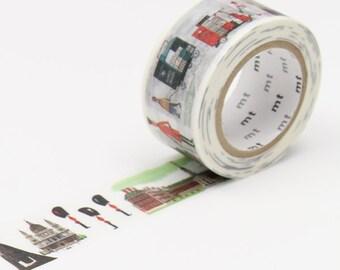 London Washi Tape • MT Masking Tape • MT Alain Gree Collab Washi Tape • Travel • Washi Tape UK • Japanese stationery • This Is London