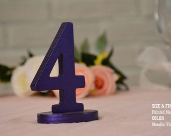 SET 1/30, Table Numbers for Wedding, Wooden Table Numbers, Rustic Wedding, Table Numbers