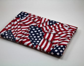 AMERICAN FLAG PILLOWCASE 4th of July Pillowcase Kids Pillowcase Holiday Pillowcase Patriotic Pillowcase Patriotic Decor Holiday Bedding