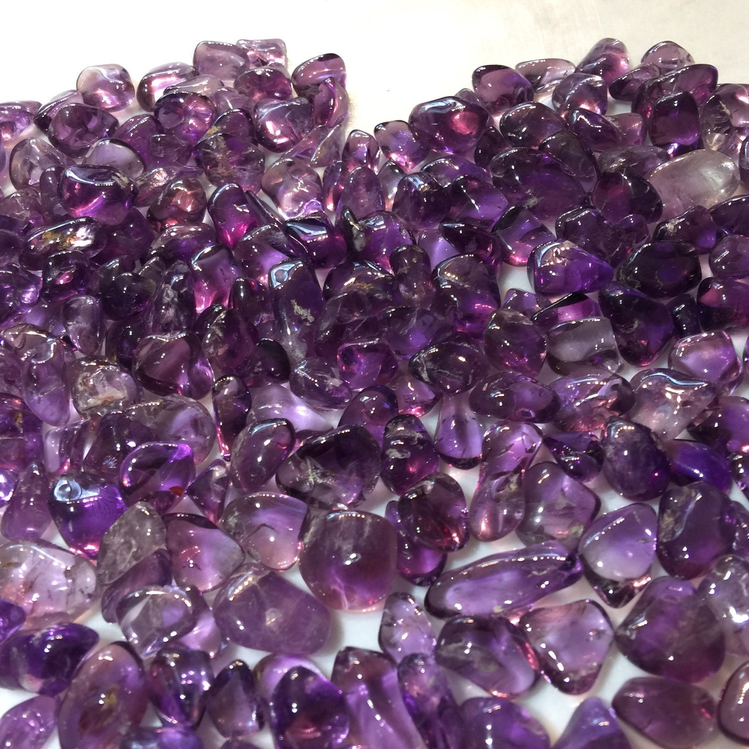 siberian amethyst tumbled gemstones usa mine four peaks