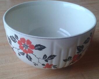 Hall Red Poppy Bowl