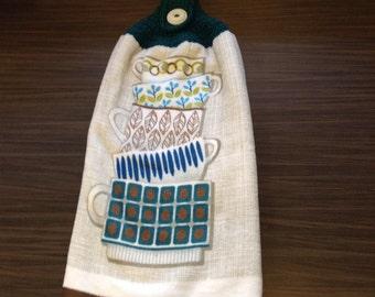 Crochet Hanging Towel