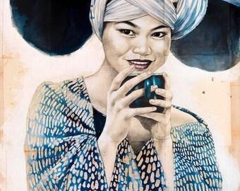 Pause thé chez les Miaos