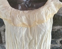 1940's Lace Nightgown (or dress)