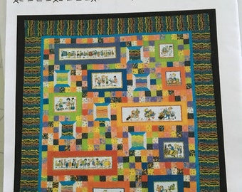 Under the Influence quilt pattern