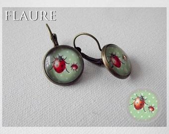 """earrings """"ladybugs"""""""