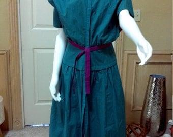 Nazareno Gabrielli Casual Dress/Italian Cotton Dress/ size small