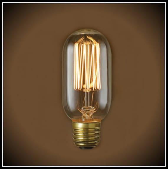 Radio style Edison light bulb