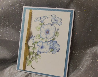 1a: Floral Wedding Invitation