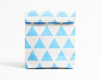 Kamibukuro/Scale-Sky/paper bag shape multipurpose pouch, travel goods organizer