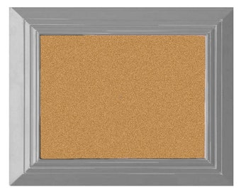 bulletin board pin board large cork board gray cork board kitchen decor office decor framed cork board cork board kids rooms