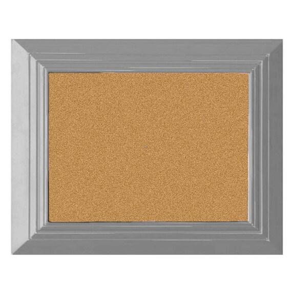 bulletin board pin board large cork board gray cork board. Black Bedroom Furniture Sets. Home Design Ideas