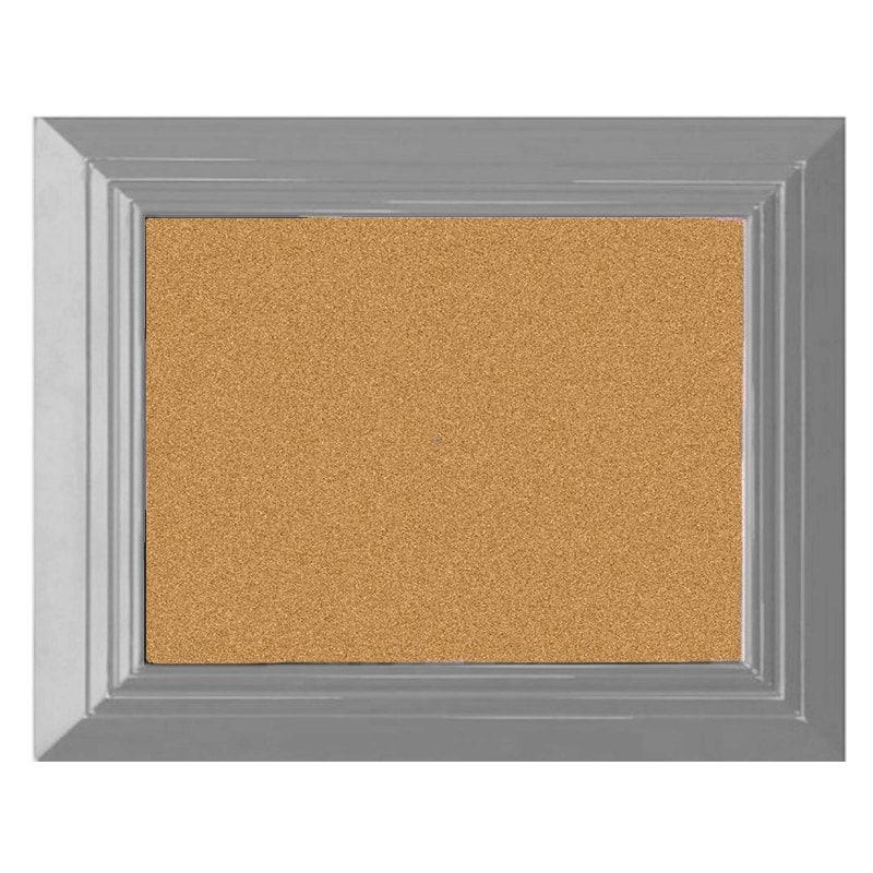 Bulletin Board Pin Board Large Cork Board Gray Cork Board
