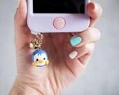 Cute Blue Penguin Phone P...