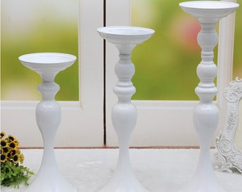 Sale! Wedding Metallic Floral Stand /Pomander Stand/Kissing ball Centerpieces Stand Riser - White  USA Seller
