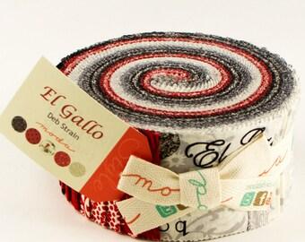 El Gallo Jelly Roll/Strips by Deb Strain for Moda