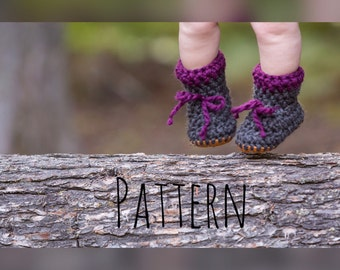 Crochet Bootie Pattern, Baby bootie pattern, Crochet bootie, Baby