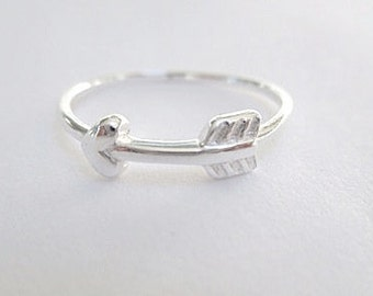 Arrow ring- Sterling Silver