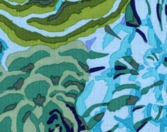 1/2 yard Kaffe Fassett Bekeh Green GP69 fabric