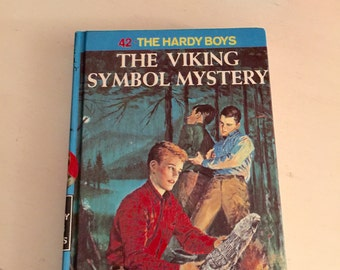Vintage The Viking Symbol Mystery The Hardy Boys  Franklin W Dixon # 42 in Series