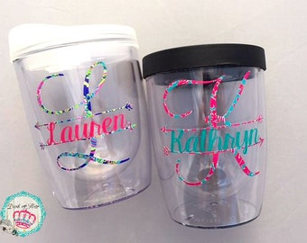 21st Birthday Gift for Her, Personalized Wine Tumbler, Bachelorette Party Cups, Sorority Gift, Personalized Gift, Girls Trip Cups