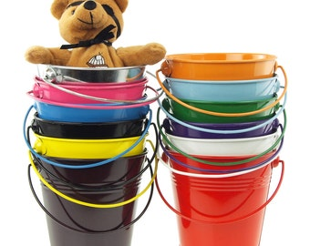 Metal Pail Buckets Party Favor, 5-Inch