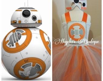 Star Wars-BB8 Tutu Dress