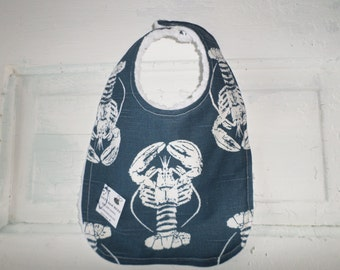 Adorable Lobster Baby Bib  - FREE SHIPPING !!!!