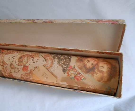 Victorian Scented Gift Wrap Paper