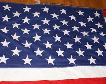 Vintage 50 Star American Military Standard Flag