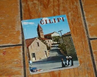 Vintage Cilipi Yugoslavia Croatia Souvenir Cards